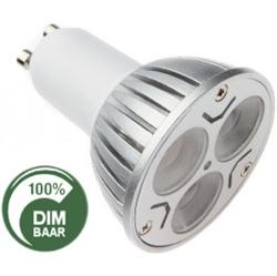 Afbeelding van 3x1WATT - GU10 - DIMBAAR vervangt 25 Watt