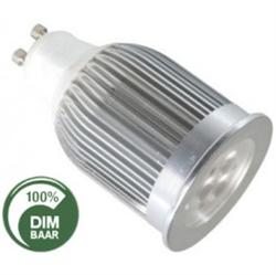 Afbeelding van 3x3WATT - GU10 - DIMBAAR vervangt 50 Watt