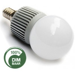Afbeelding van 4x1 WATT - E14 BOL - EDISON LED vervangt 40 Watt