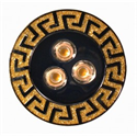 Afbeelding van PROLuxe - 230v inbouw series 3x2W Edison LED 2700K - SunShine