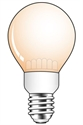 Afbeelding van Calex LED Standaardlamp 240V 2,0W E27 A55, 130 lumen Flame 30.000 uur
