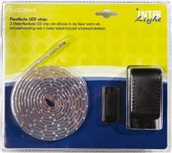 Afbeelding van Siliconen LED strip 2,0 meter Kit 9 Watt - Schemerschakelaar - IL-LSG2M+S