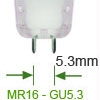 Afbeelding van categorie MR16 / GU5.3 Halogeen spot 12v