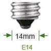 Afbeelding van categorie E14 LED lamp - Gloeilamp