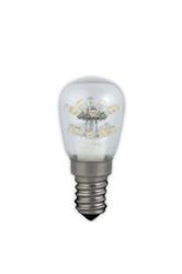 Afbeelding van Calex Pearl LED Schakelbordlamp 240V 0,9W E14 T26x58mm, 17-leds 2100°K